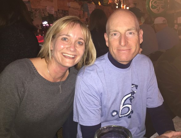 with Jim Furyk at Mario's Fishbowl