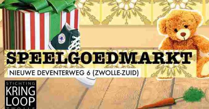 Speelgoedmarkt bij Kringloop Zwolle-Zuid op donderdag 21 November