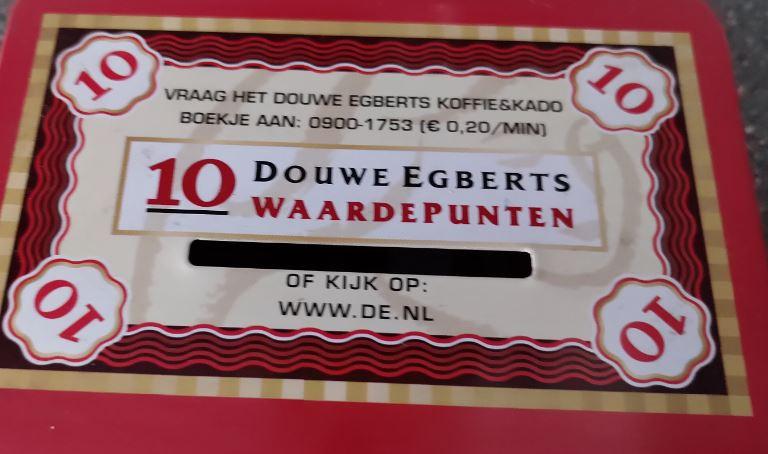 Douwe Egberts-zegelactie voor Voedselbank Zwolle door Lionsclub Zwollerkerspel Zwolle Zuid