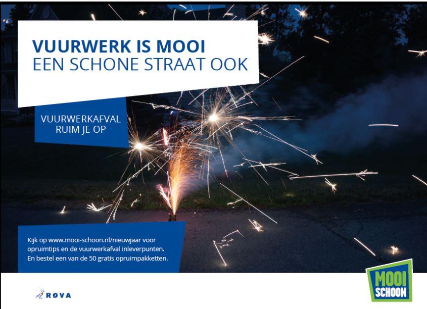 De ROVA-campagne 'Vuurwerkafval in Zwolle ruim je op' gaat van start