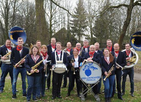 Blaaskapel De Knollentrekkers Zwolle Zuid bestaat vijftig jaar – Jubileumreceptie op 27 maart