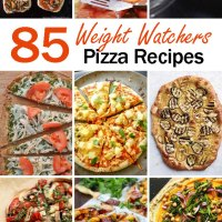 The Ultimate List of Weight Watchers Pizza Recipes with Points – 85 Healthy Pizza Recipes to Choose From