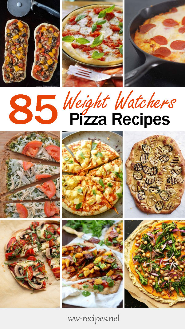 85 Weight Watchers pizza recipes with points