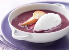 Weight Watchers Apple & Beetroot Soup with Snow Dumplings recipe