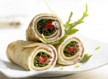 Weight Watchers Ham and Cheese Wraps recipe