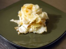 Weight Watchers Microwave Scalloped Potatoes recipe