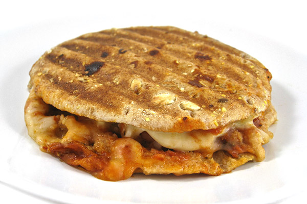 Skinny Breakfast Pizza Melt