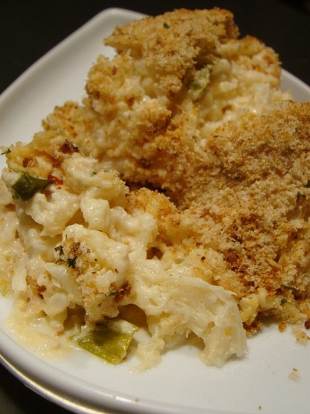 WeightWatchers Cauliflower Au Gratin Recipe