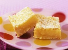 weight watchers lemon bars recipe