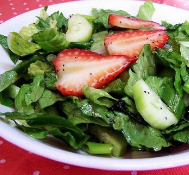weight watchers strawberry romaine salad recipe