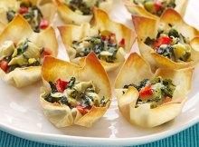 Weight Watchers Warm Spinach-Artichoke Cups Recipe