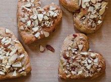 Weight Watchers Almond & Pomegranate Scones recipe