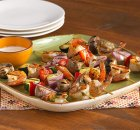 Weight Watchers Shrimp and Vegetable Kebabs recipe