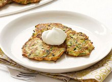 Weight Watchers Zucchini Pancakes recipe