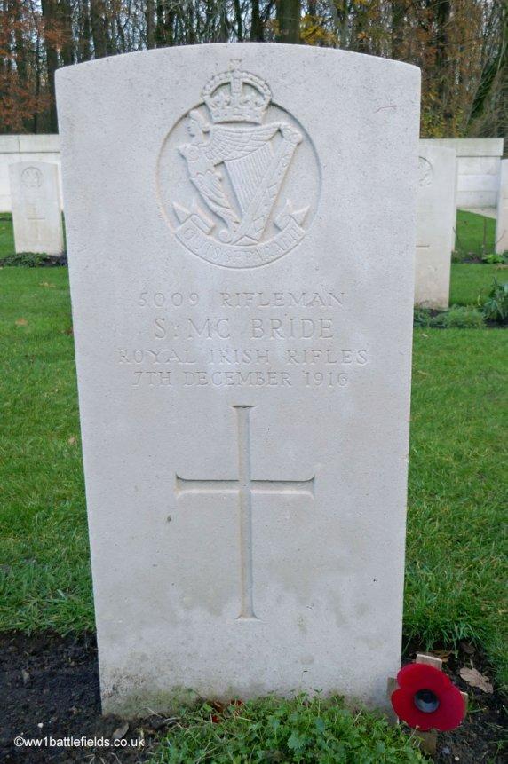 Grave of Samuel McBride