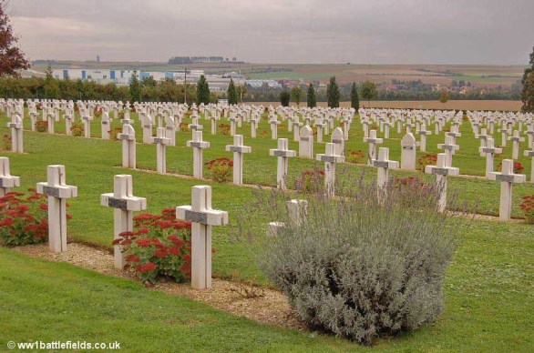 French National Cemetery at Albert