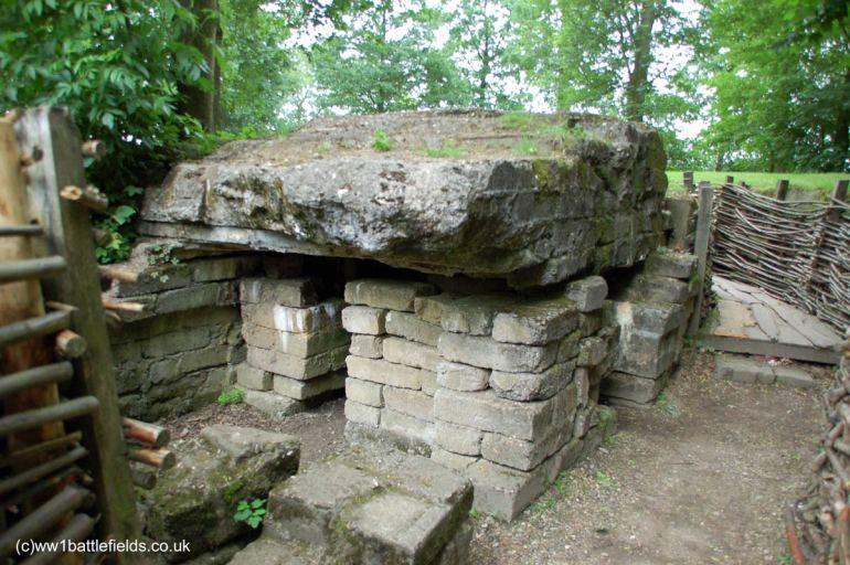 A bunker at Bayernwald