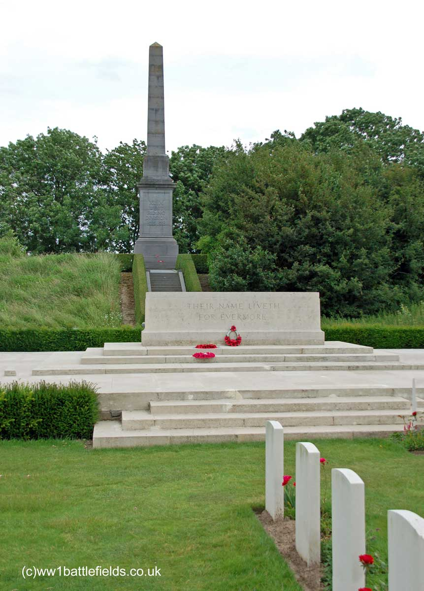 49th Division Memorial at Essex Farm