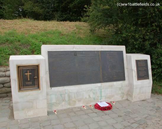 McCrae Memorial at Essex Farm