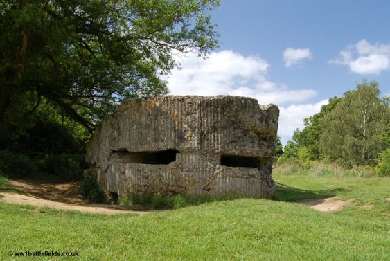 Pillbox at Hill 60