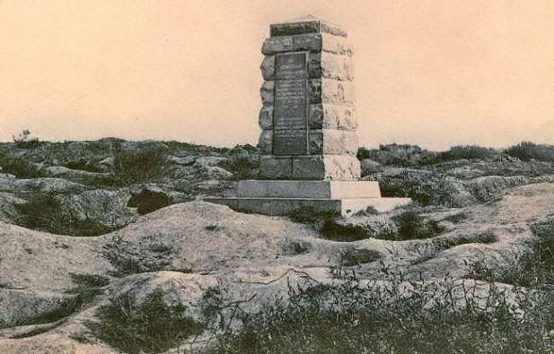 1st Australian Tunneling Co. Memorial between the wars