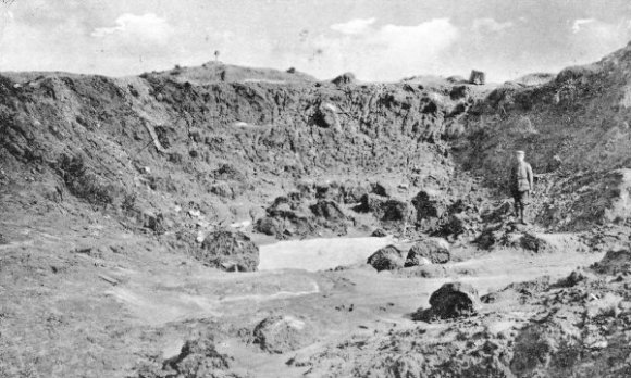 Hooge crater in 1915
