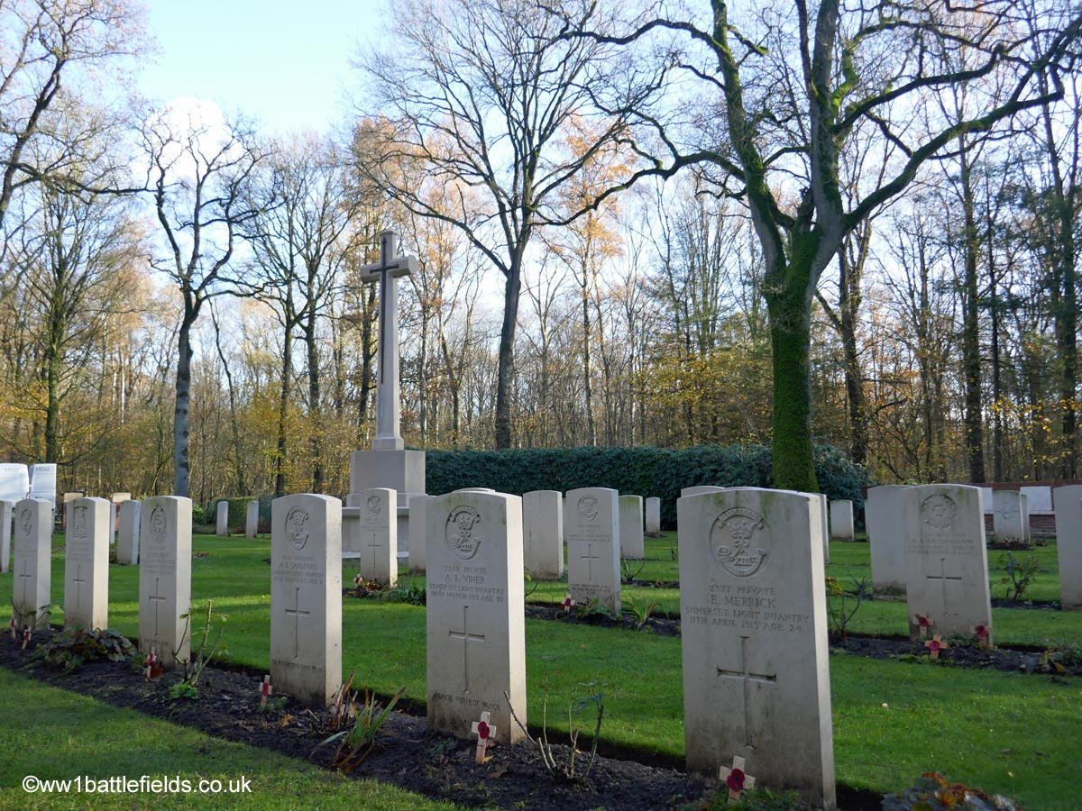 Ploegsteert Wood Military Cemetery