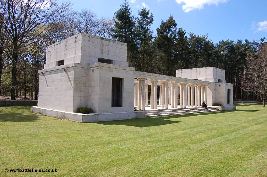 New Zealand Memorial to the Missing in Polygon Wood