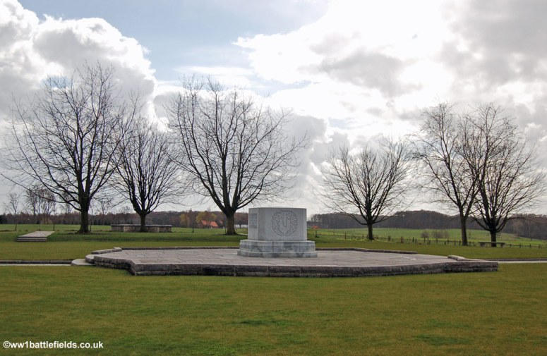 The Canadian Memorial at Hill 62