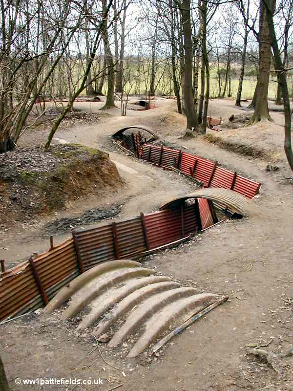 Trenches at Sanctuary Wood