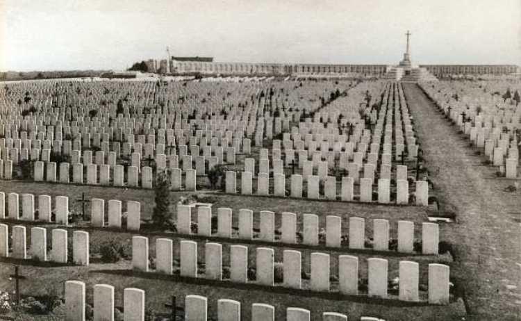 Tyne Cot between the Wars