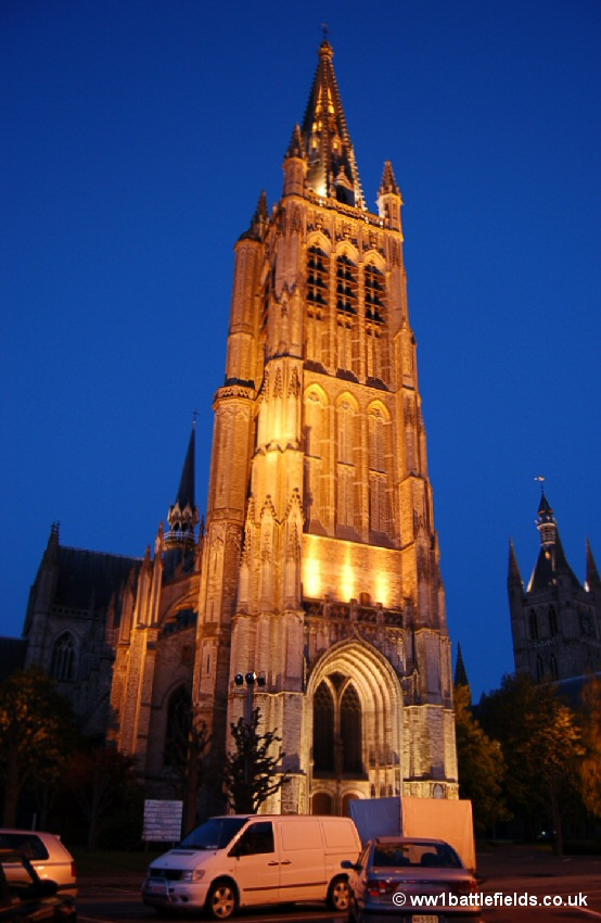 Cathedral of St. Martin and St. Nicholas by night