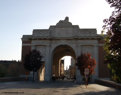 The Menin Gate, Ypres