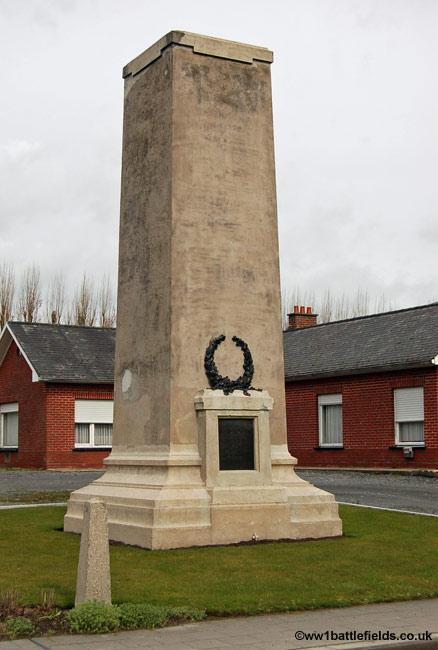20th Light Division Memorial at Langemark
