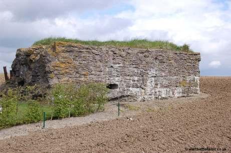 Bunker near Langemark German Cemetery