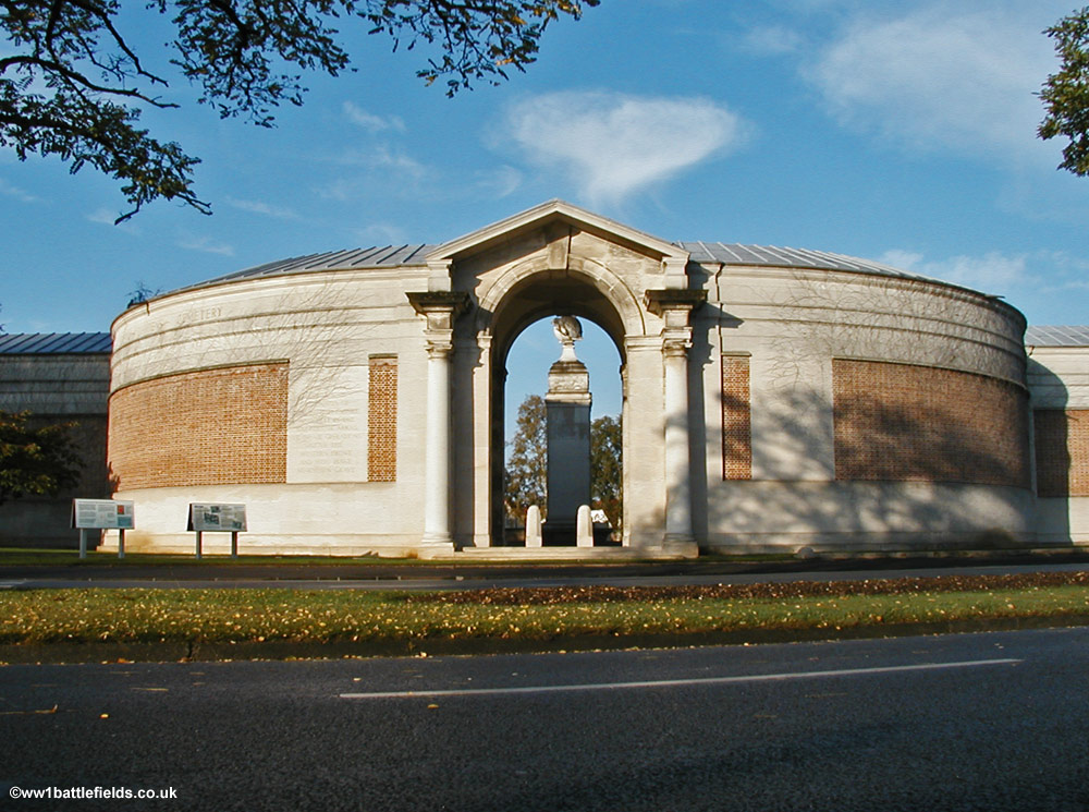 The Arras Memorial to the Missing