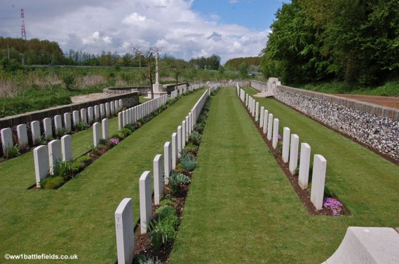 Crump Trench Cemetery