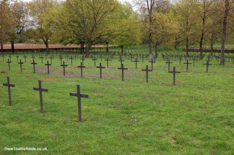 La Maison Blanche German Cemetery