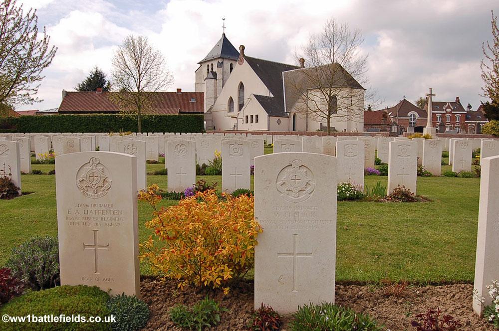 Cambrin Churchyard Extension