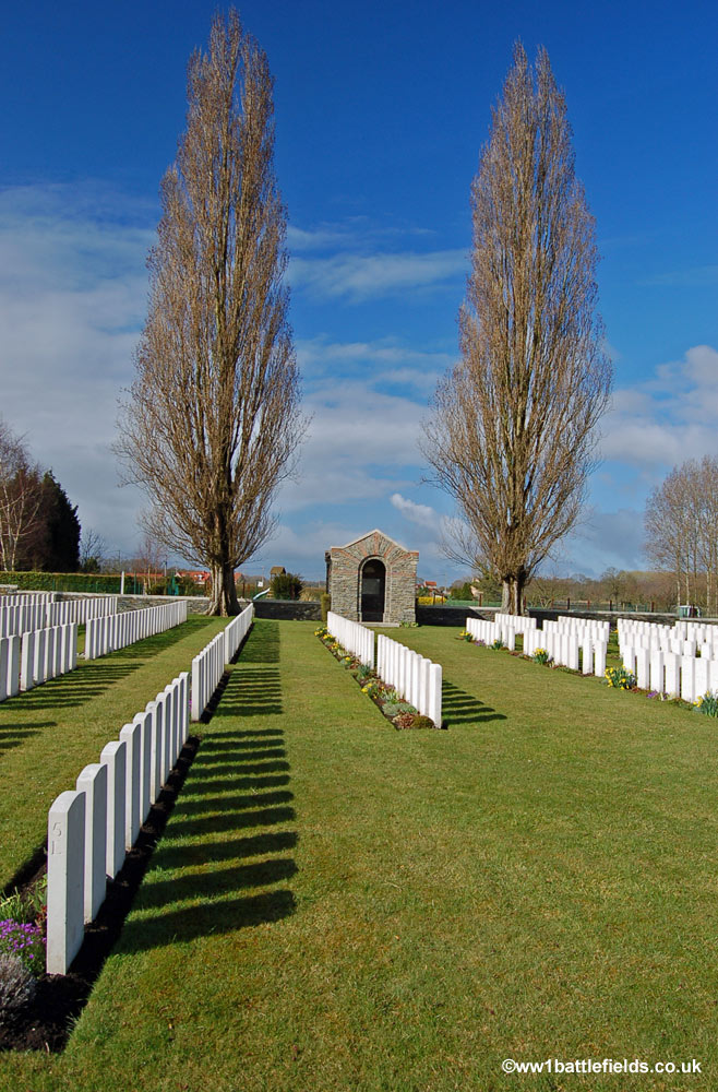 Guards Cemetery, Windy Corner, Cuinchy