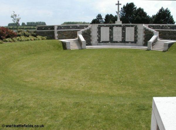 Lichfield Crater Cemetery