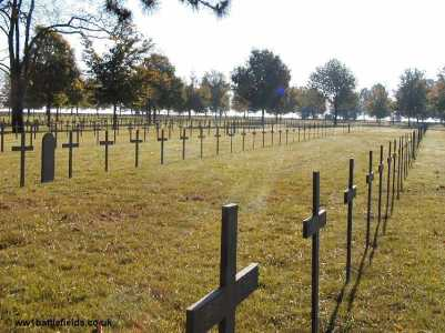 Graves at Neuville St. Vaast German Cemetery