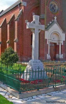 16th Division Memorial Cross in Guillemont