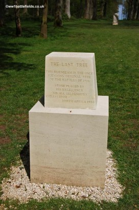The Last Tree marker, Delville Wood