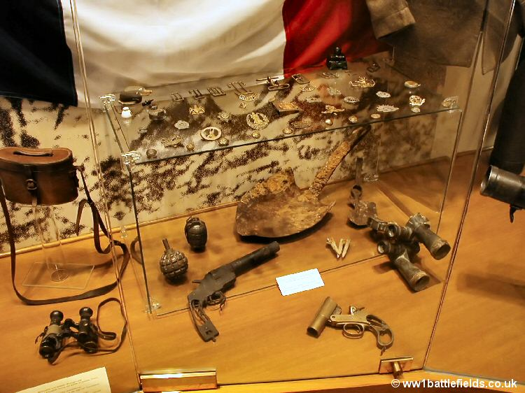 Delville Wood Museum - relics