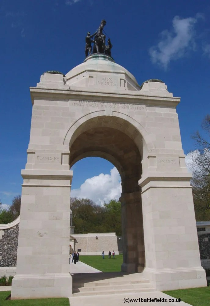 South African Memorial, Delville Wood