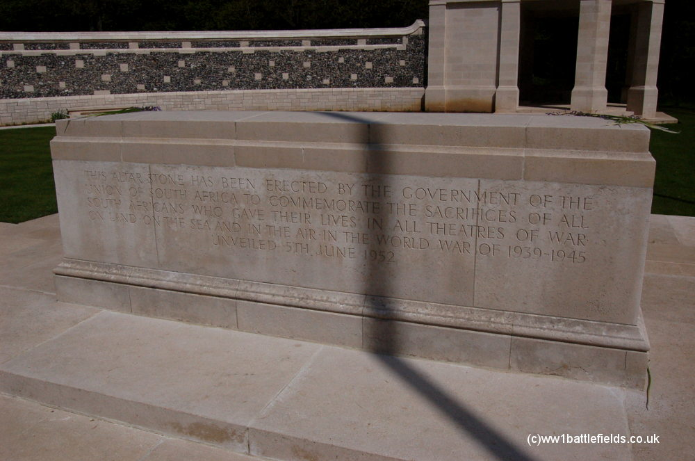 WW2 Commemoraton at Delville Wood