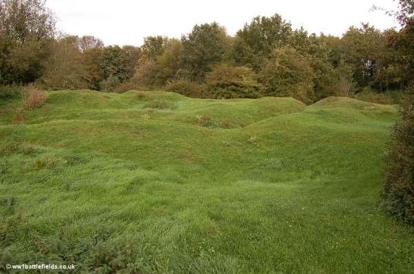 Disturbed Ground near Bois Francais