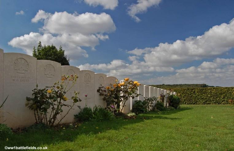 Adelaide Cemetery near Villers-Brettoneux