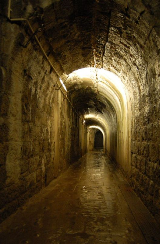 One of the corridors within Fort Douaumont